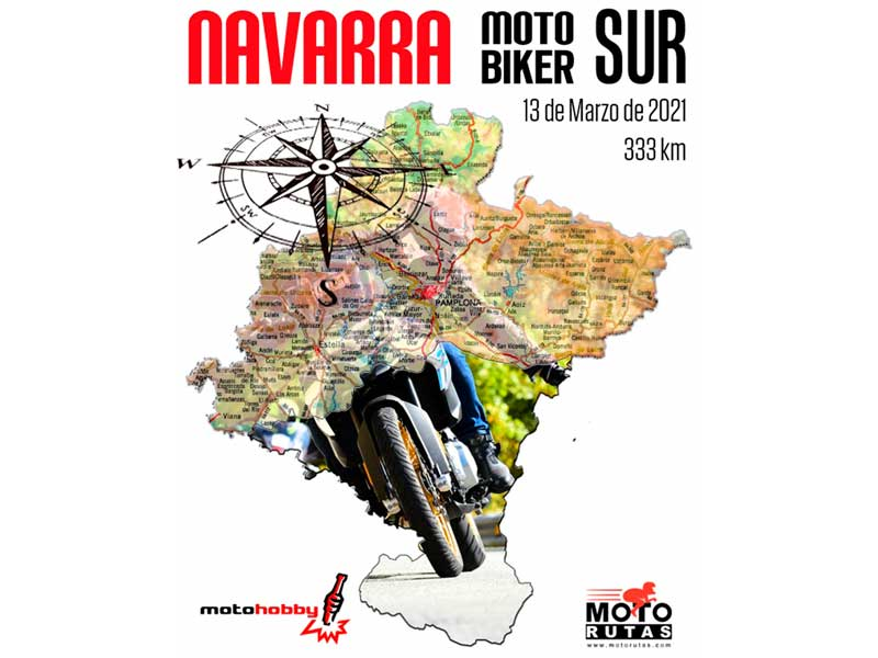 Navarra motor biker sur